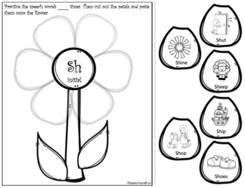 Speech Therapy Spring Articulation!!! - Later Developing Sounds