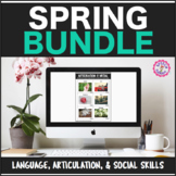 Speech Therapy Spring Language, Articulation, & Social Pragmatics Bundle