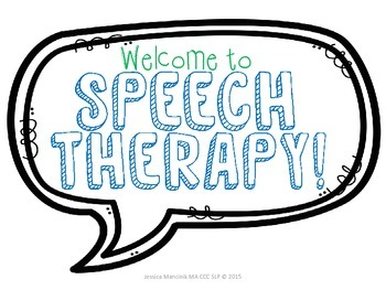 Speech Therapy Starter Pack!