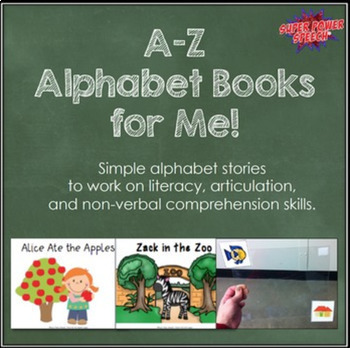 Speech Therapy Starter Pack- AAC