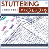 Speech Therapy Stuttering Activities