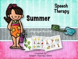 Speech Therapy Summer Language