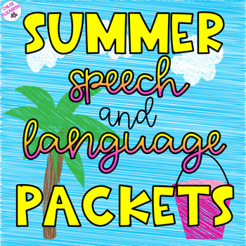 Speech Therapy Summer Packets!