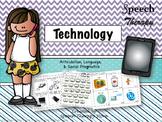 Speech Therapy Technology: Language, Articulation, & Social Pragmatics