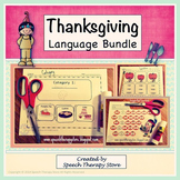 Speech Therapy Thanksgiving Language
