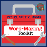 Prefixes, Suffixes, Root Words: Speech Therapy Toolbox