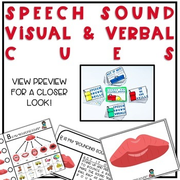 Speech Therapy Toolbox: Speech Sounds & Syllable Visuals