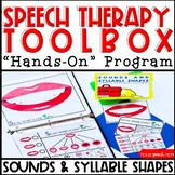 Speech Therapy Toolbox: Speech Sounds & Syllable Shapes Hands on Program