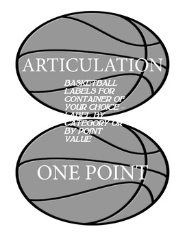 Speech Therapy Basketball Game for Language and Articulation #jun2018slpmusthave