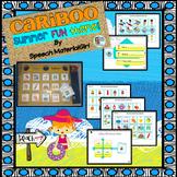 Speech Therapy SUMMER FUN Cariboo Cranium Game vocabulary attributes
