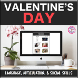 Speech Therapy Valentine's Bundle: Language, Articulation, & Social Pragmatics
