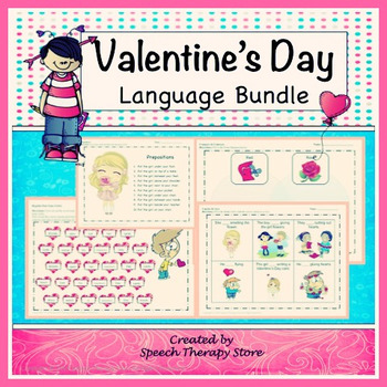 Speech Therapy Valentine's Day Language Bundle