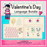 Speech Therapy Valentine's Day Language