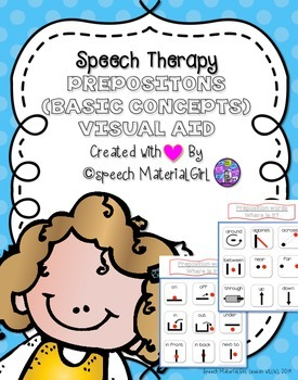 Speech Therapy Visual Aid for PREPOSITIONS BASIC CONCEPTS