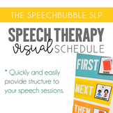 Speech Therapy Visual Schedule