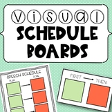 Speech Therapy Visual Schedules