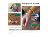 Speech Therapy Visual Symbol Jewelry Printables for Kids