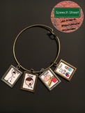 Speech Therapy Visual Symbol Jewelry for Choices