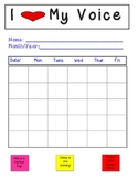Speech Therapy Voice  Vocal Abuse Data Chart