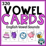 Vowel Articulation Cards for Speech Therapy