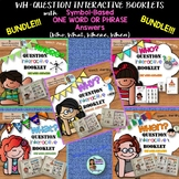 Wh-Questions BUNDLE Who What Where Why When Interactive Books
