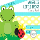 FREEBIE: Where is Little Frog? book for Positional Concepts