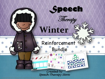 Speech Therapy Winter Reinforcement Games