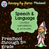 Speech Therapy Worksheets | Speech and Language Therapy