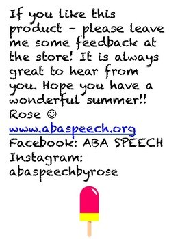 Speech Therapy Year In Review