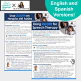 Speech Therapy Zoom Guide for Parents | Distance Learning