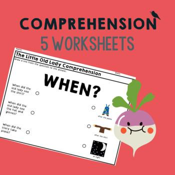 *NO PREP* GIGANTIC Turnip: Pre-literacy Speech Therapy Companion: Worksheets