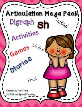 Hands On Speech Therapy for /Sh/ Articulation Activities