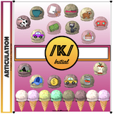 Speech Therapy /k/ Initial Ice Cream Articulation