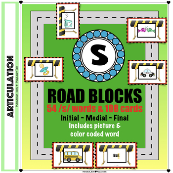Speech Therapy: /s/ Articulation Road Blocks