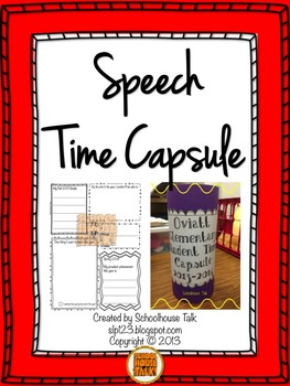 Speech Time Capsule