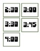 Speech Time Cards