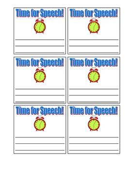 Speech Times Desk Tags