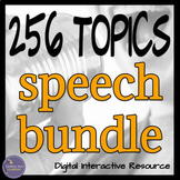 Public Speaking Activities Bundle for Google Drive