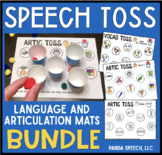 Speech Toss BUNDLE a speech therapy game