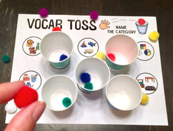 Speech Toss BUNDLE a speech therapy game