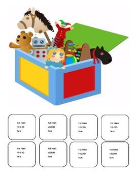 Speech Toy Box Game