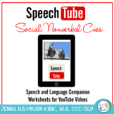 Speech Tube Social: Nonverbal Cues.   YouTube Speech & Language