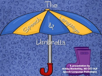 Speech Umbrella Presentation