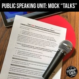 "Speech Unit: Mock ""Conference"" Talks {3+ Weeks: Writing, Speaking, & Nonfiction}"