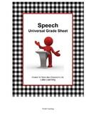 Speech Universal Grade Sheet