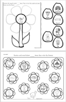 Speech Words are Blooming! Interactive activity- early developing sounds