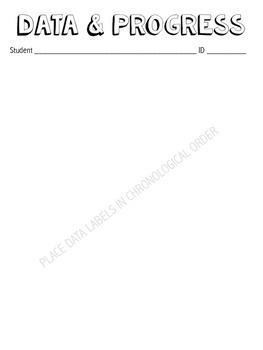 Speech Working Folder - Block Title