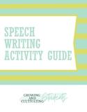 Speech Writing Activitiy Guide