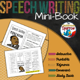 Speech Writing Mini-Book (A Perfect Addition to an ELA Int