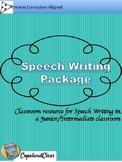 Speech Writing Package
